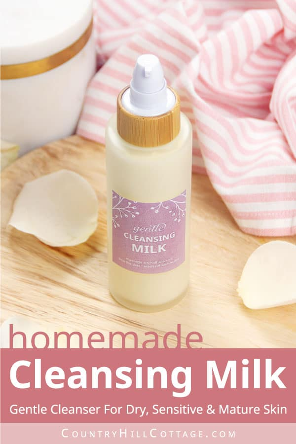 homemade cleansing milk