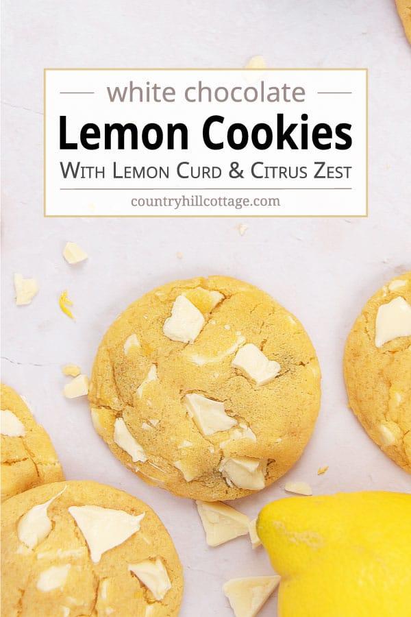 lemon chocolate chip cookies recipe
