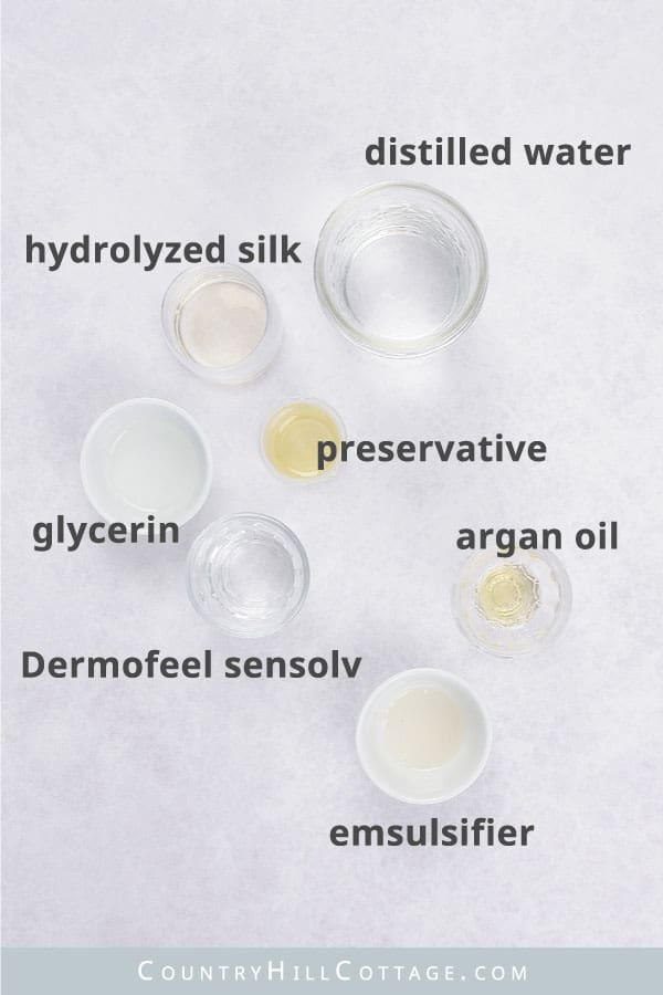 moisturizing hair spray ingredients