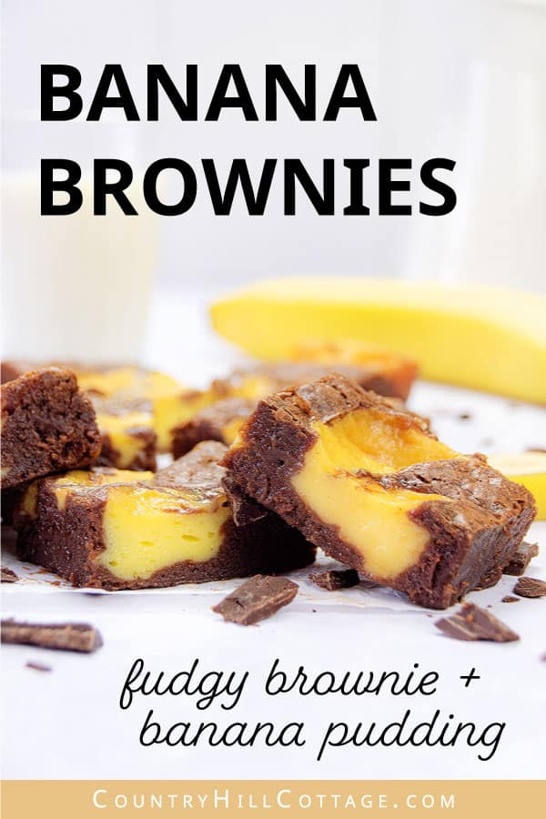 banana pudding brownie recipe