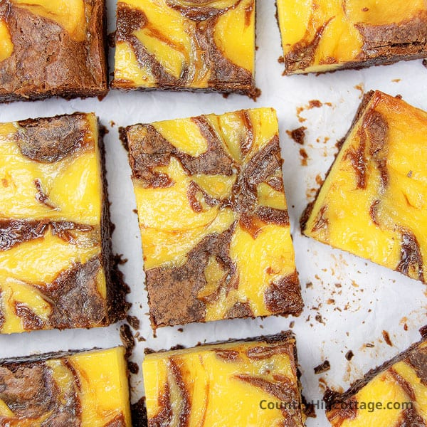 Banana Pudding Brownies Recipe {Fudgy + Gooey}