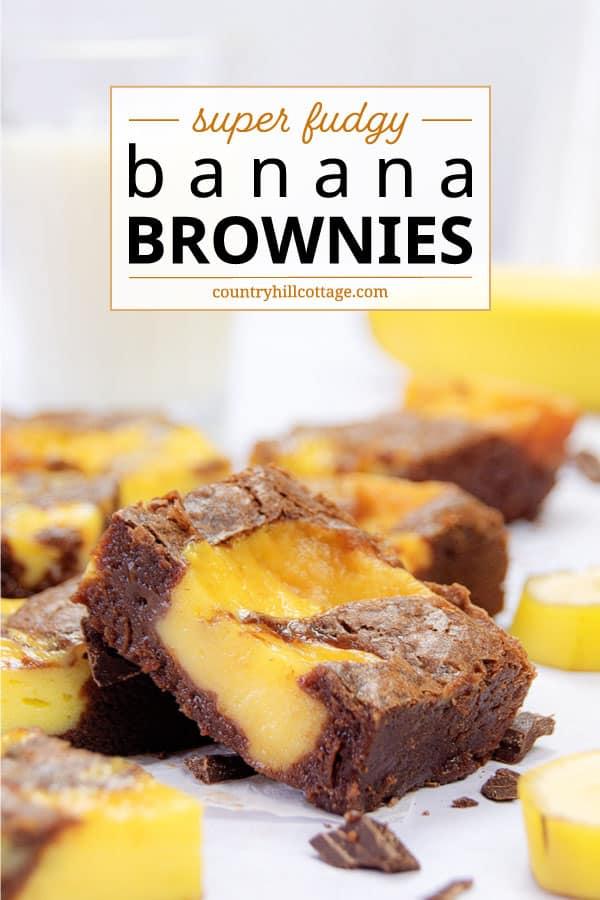 banana pudding brownies