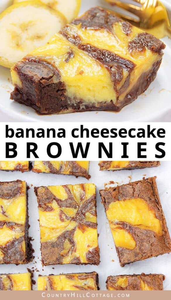 chocolate banana brownies recipe