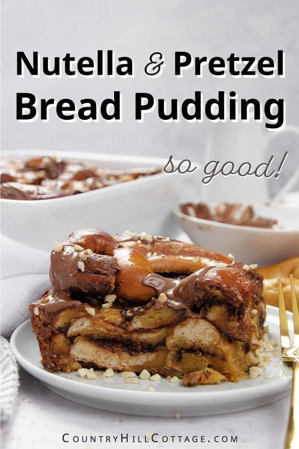 pretzel pudding
