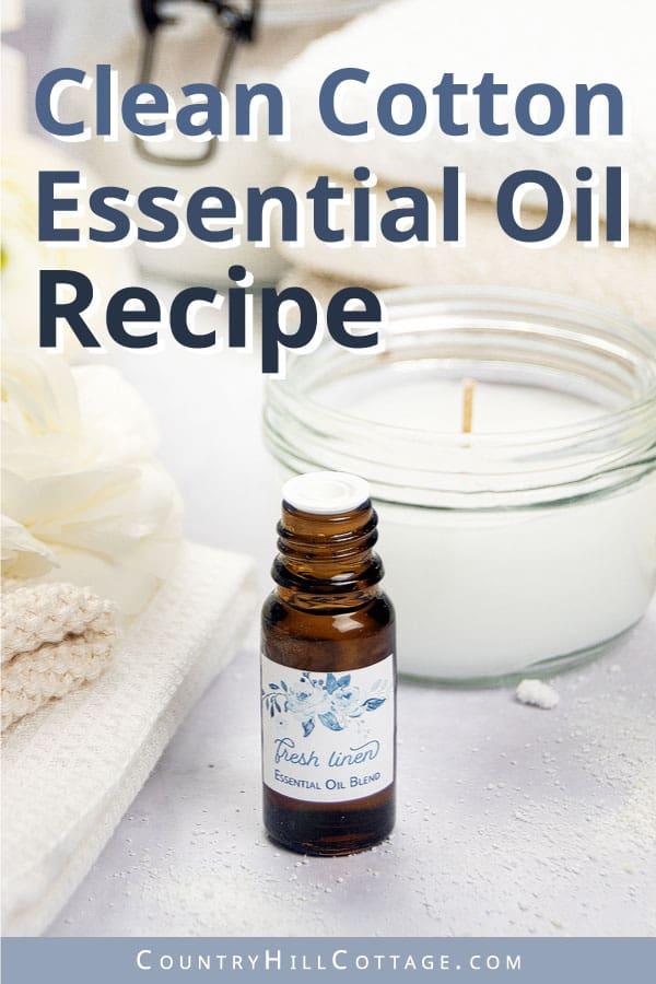 clean cotton essential oil