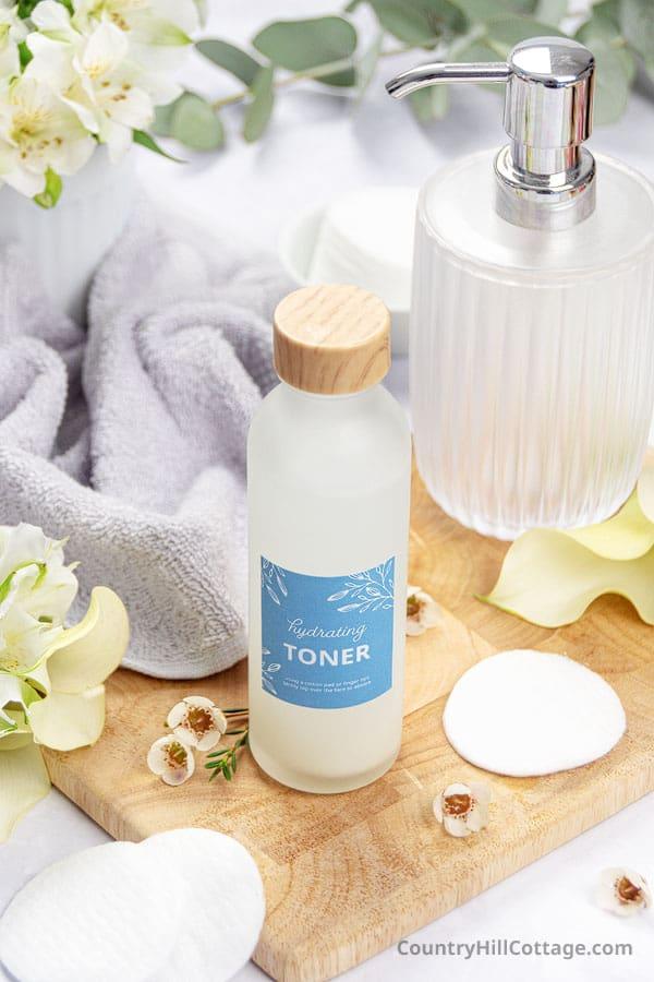diy face toner for dry skin