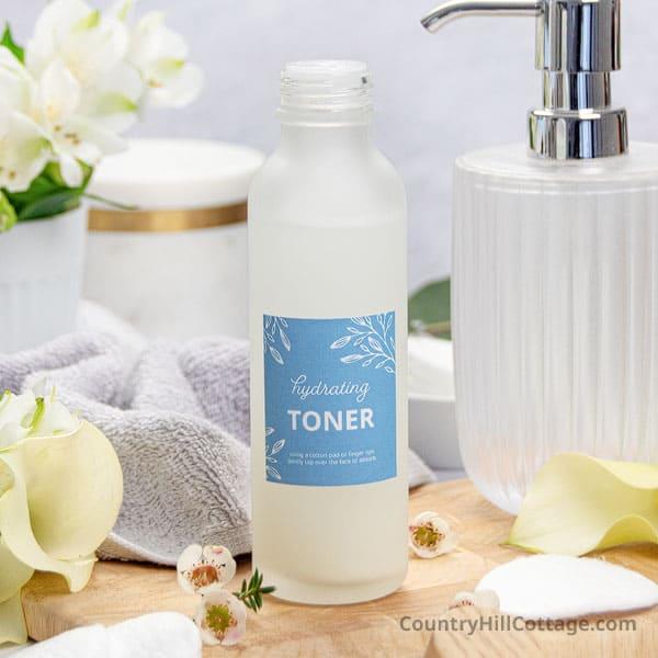 Hydrating DIY Toner For Dry Skin