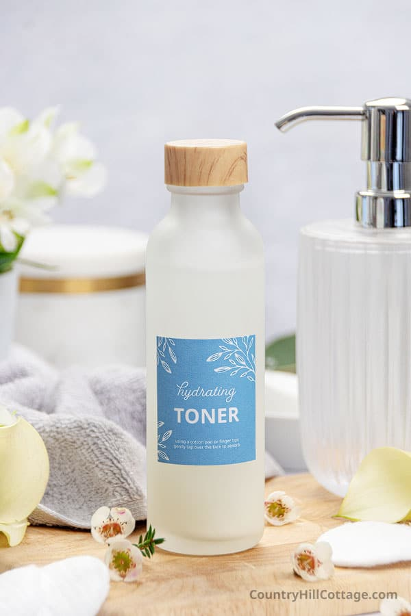 diy toner for dry skin