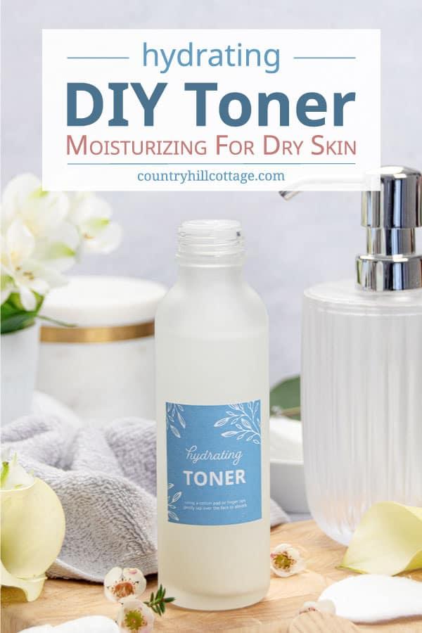 homemade toner for dry skin