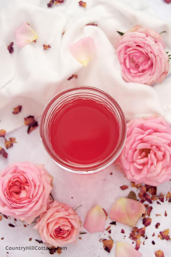 how long does homemade rose water last