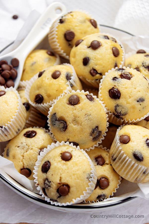 mini chocolate chip muffin recipe