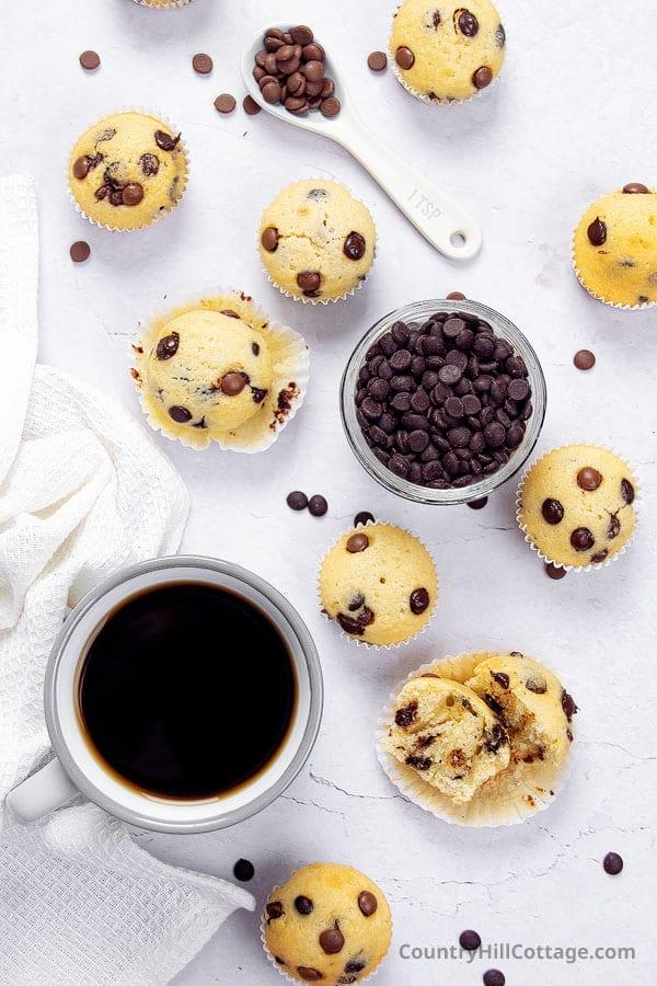 mini muffin recipe
