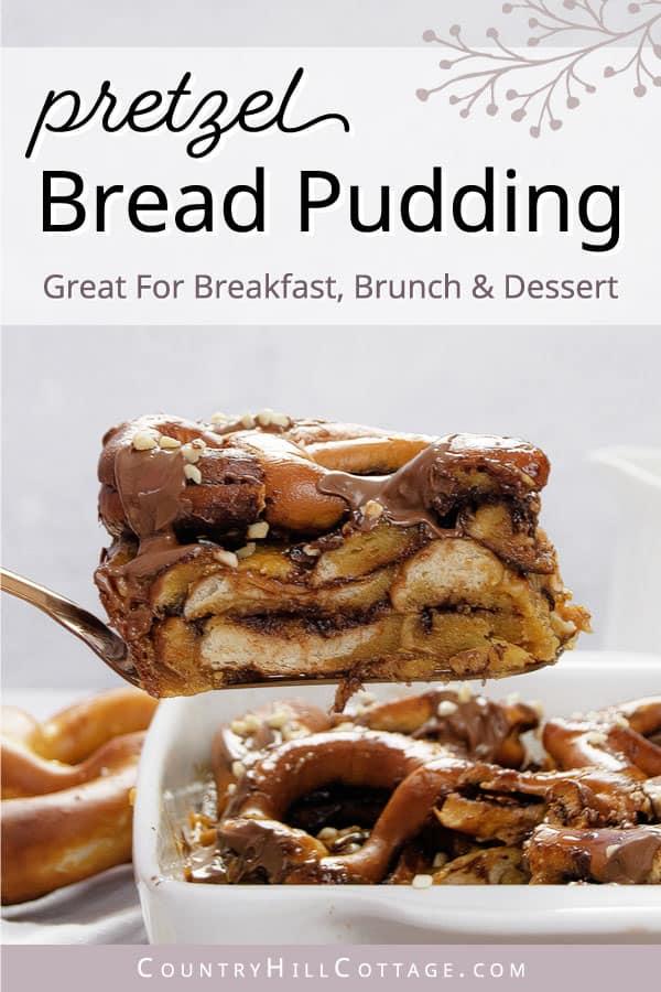 pretzel bread pudding recipe