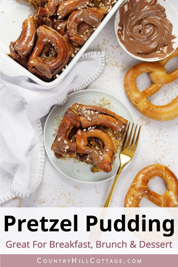 pretzel pudding recipe
