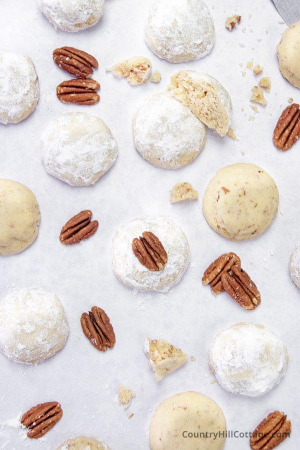 recipe for Danish wedding cookies