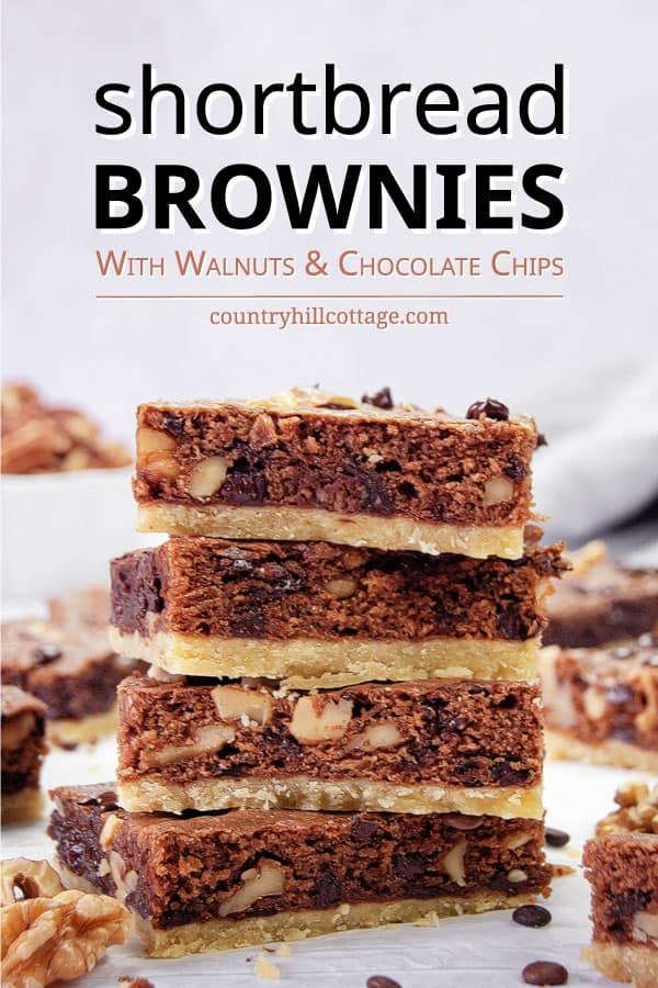 shortbread brownies