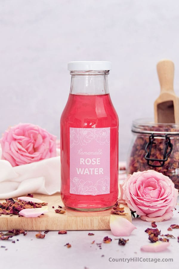 what is rose water