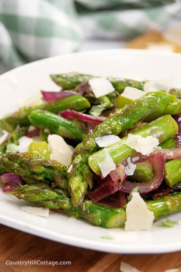 asparagus parmesan recipe