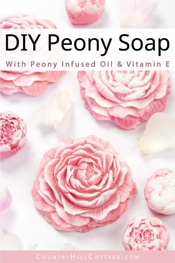 diy flower soap