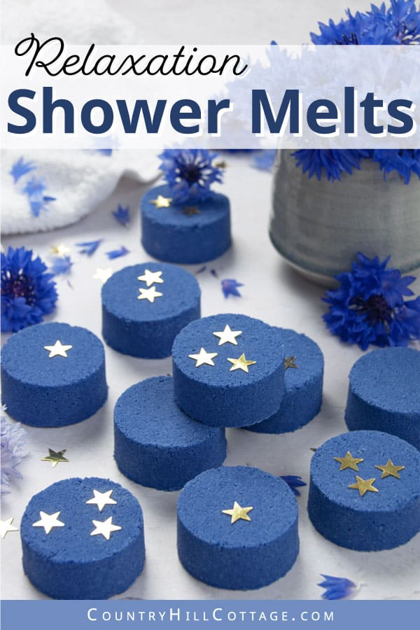diy shower tablets for relaxation