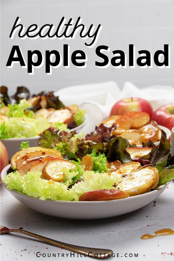 grilled apple salad recipe