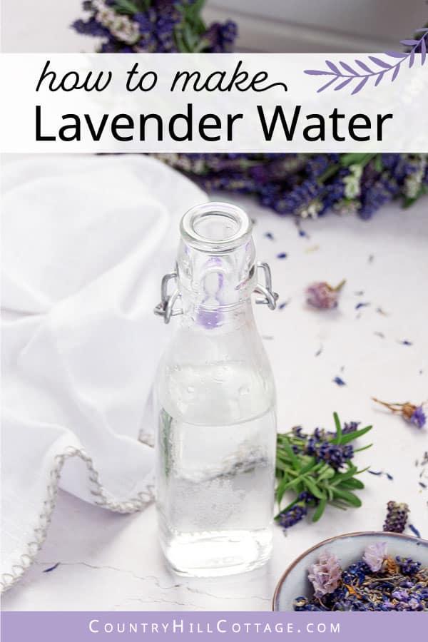 homemade lavender water