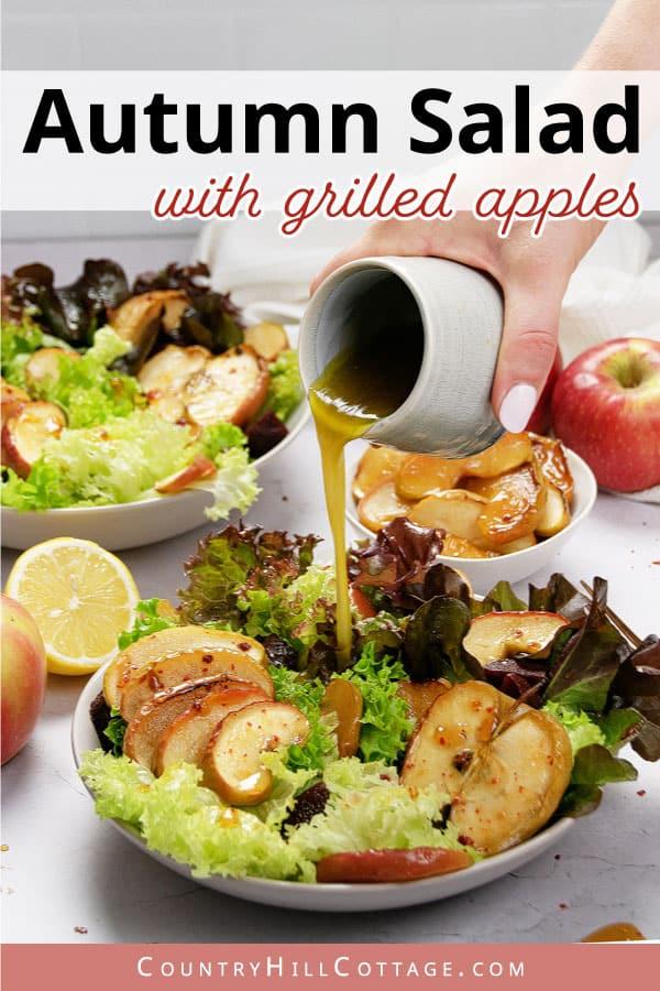 how to make roasted apple salad