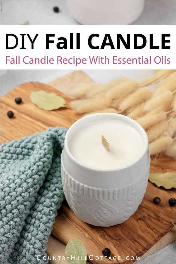 how to make sweater weather candle