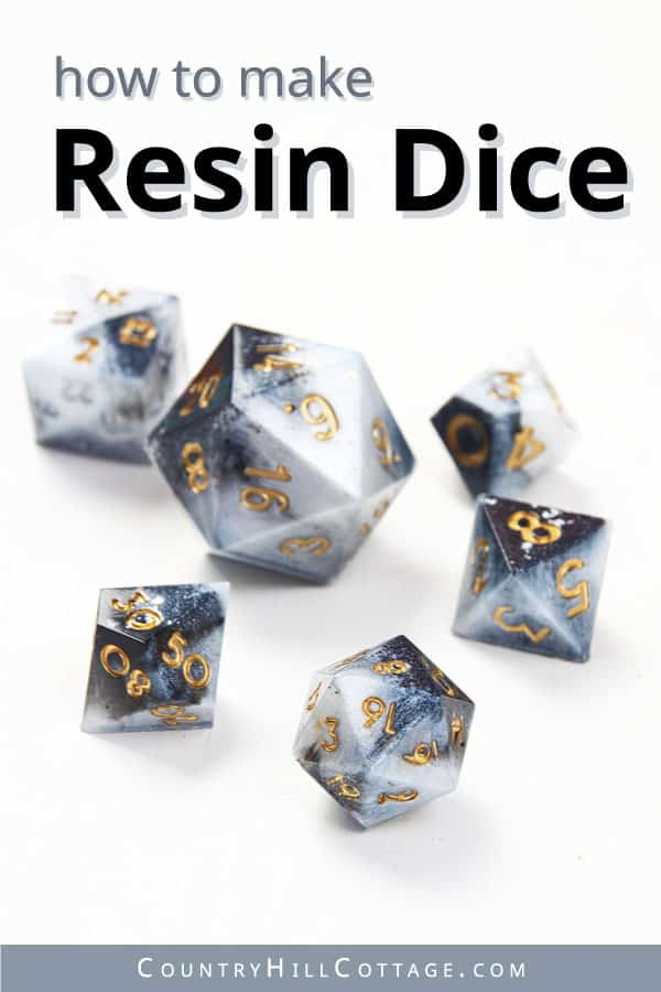 how to make your won dice