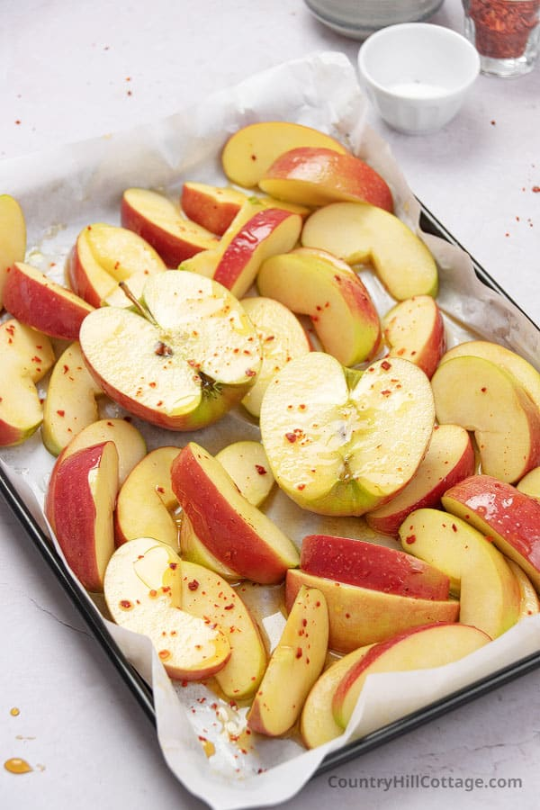 how to roast apples