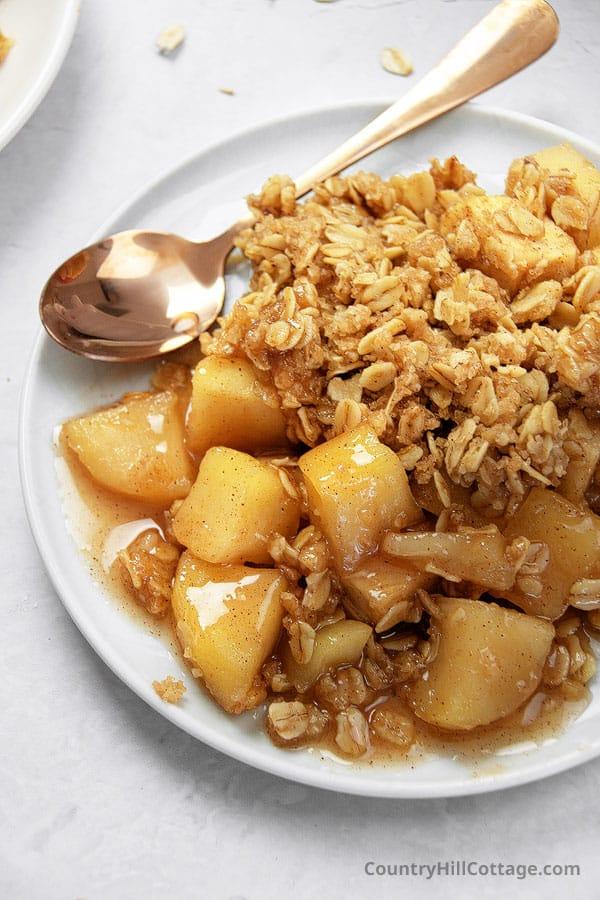 how to make gluten free apple crisp