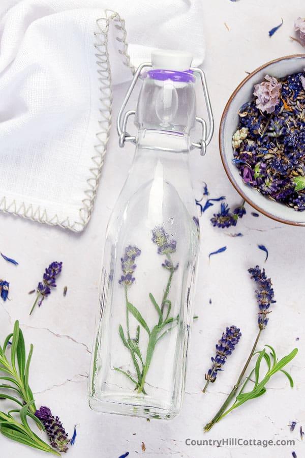 lavender infused water