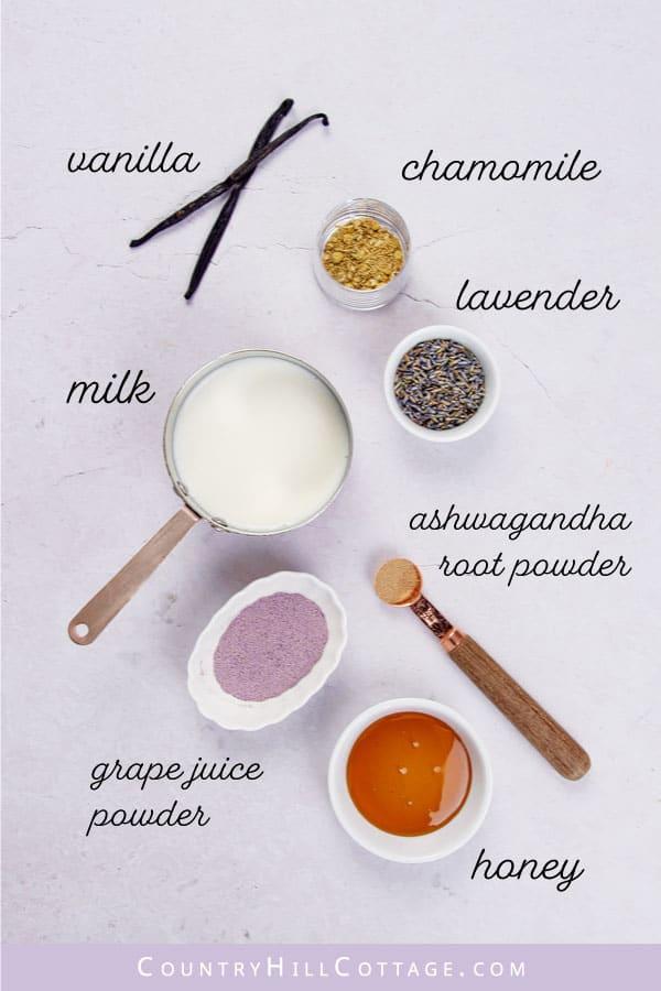lavender milk ingredients