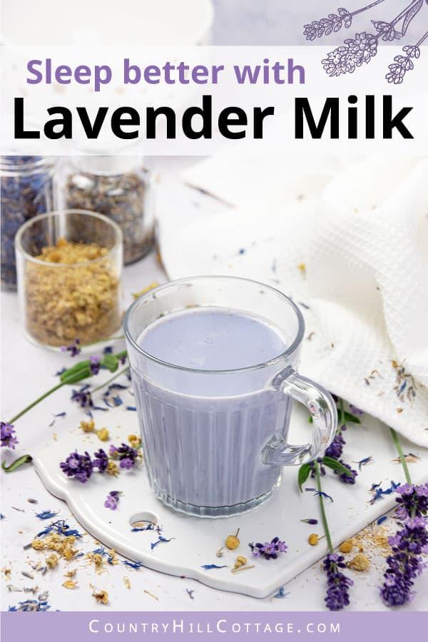 lavender milk latte