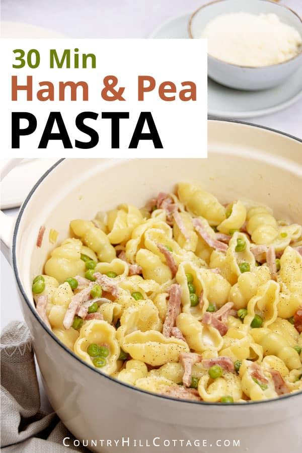 leftover ham pasta recipe