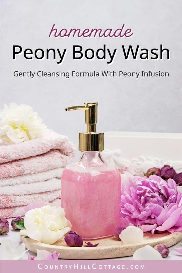 peony body wash