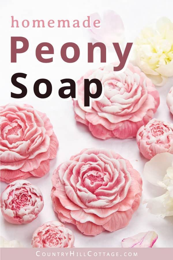 peony soap recipe