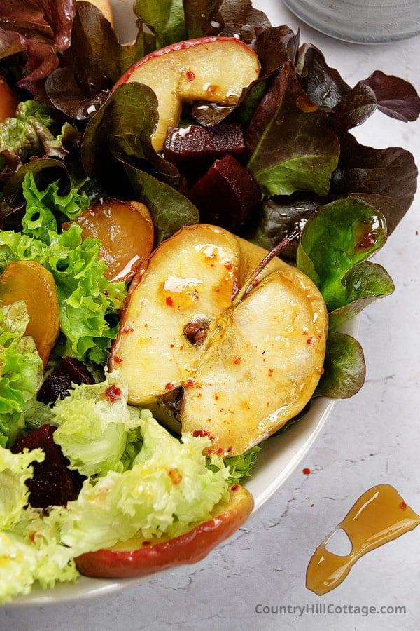 spicy apple salad