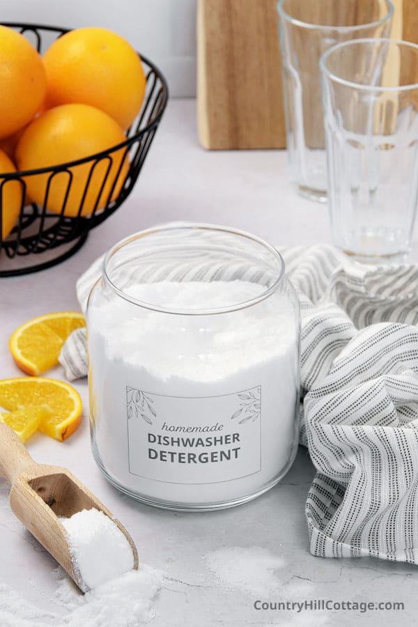 best natural dishwasher detergent
