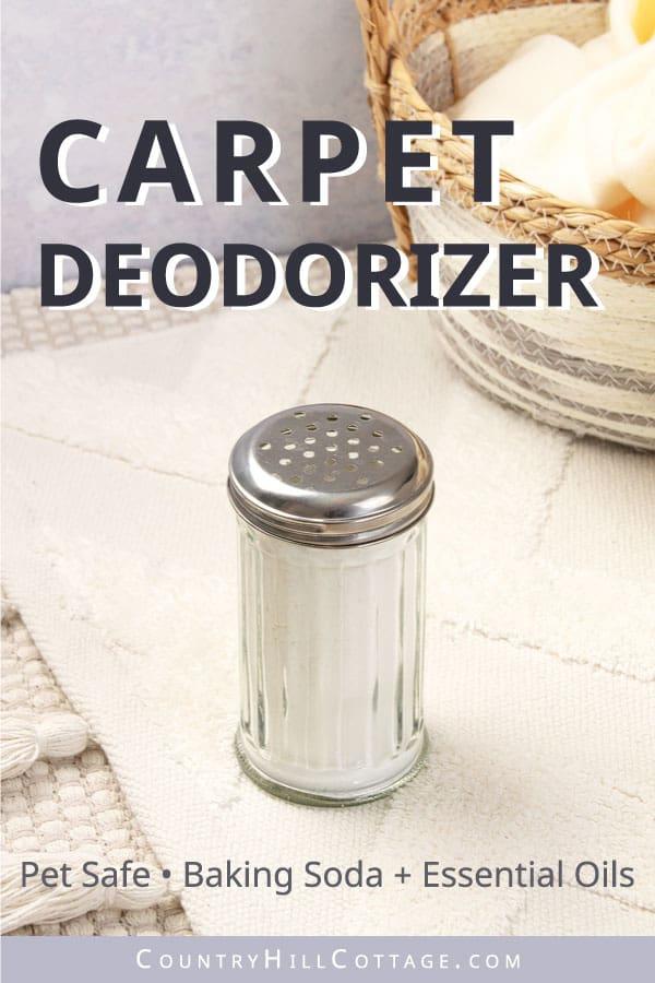 carpet deodorizer powder