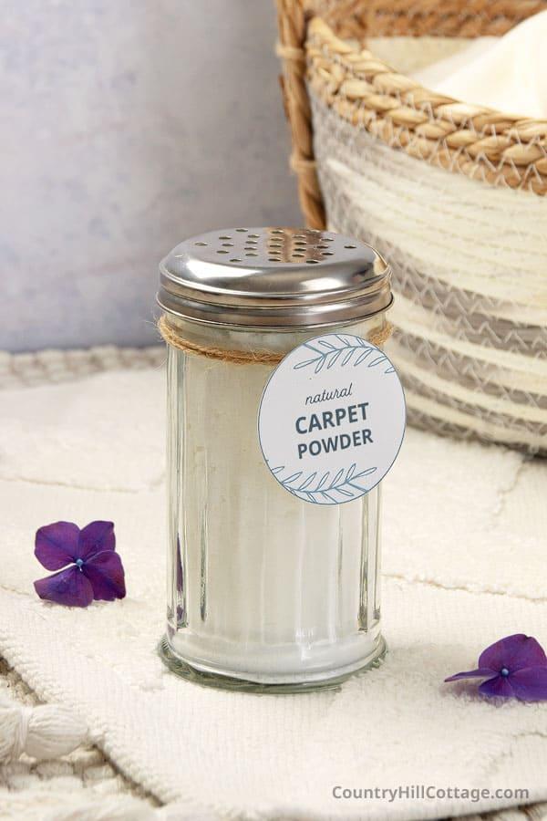 DYI carpet deodorizer