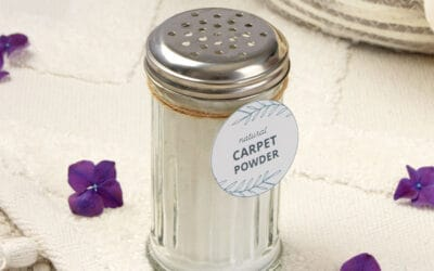 DIY Carpet Powder {Homemade Carpet Deodorizer – Pet Safe}