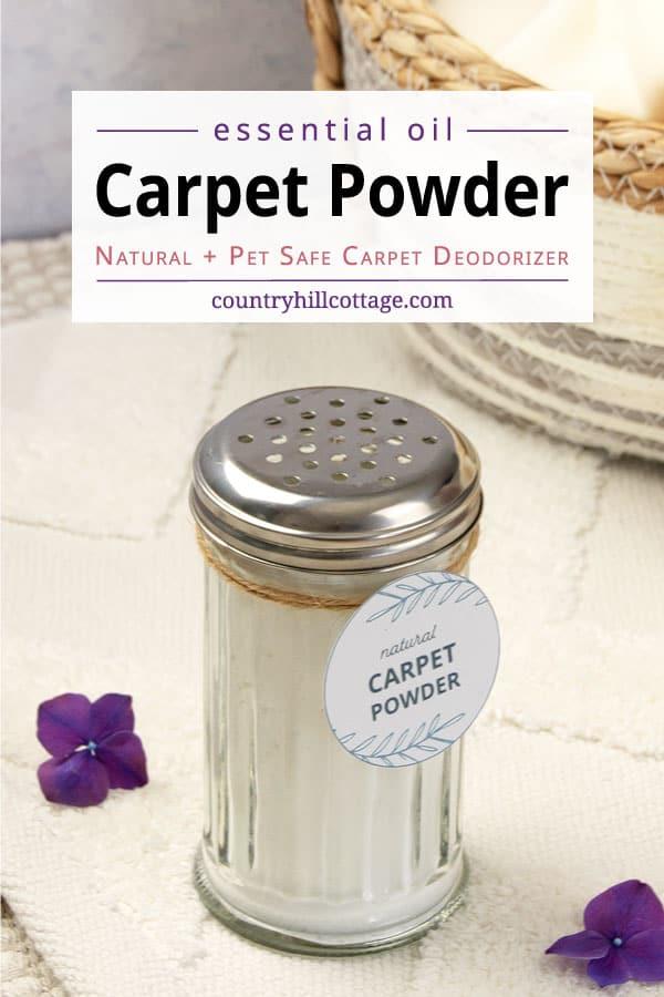 diy carpet powder