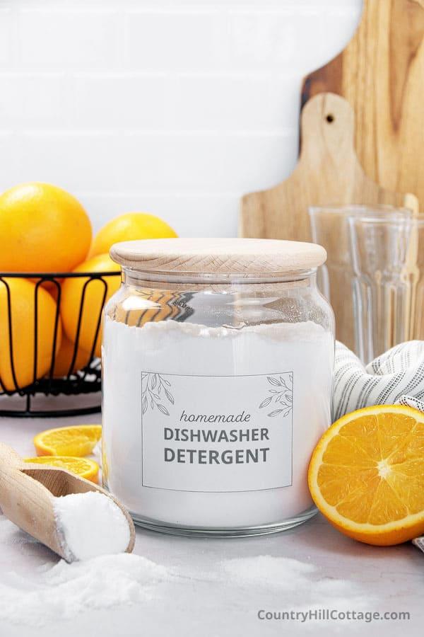 diy dishwasher powder