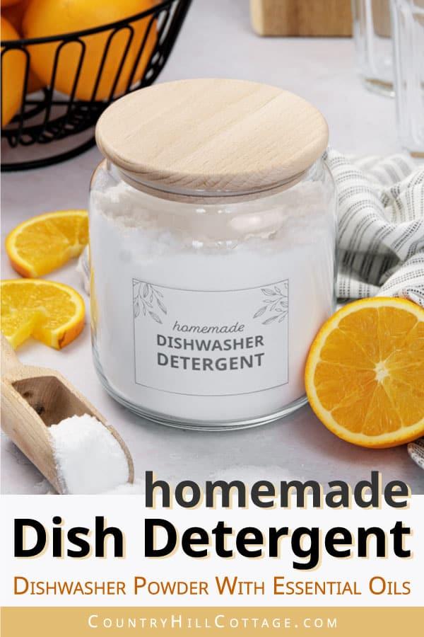 diy dishwashing detergent