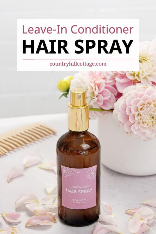 diy leave in conditioner spray