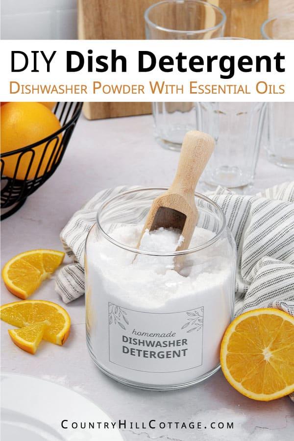 dishwasher detergent recipe