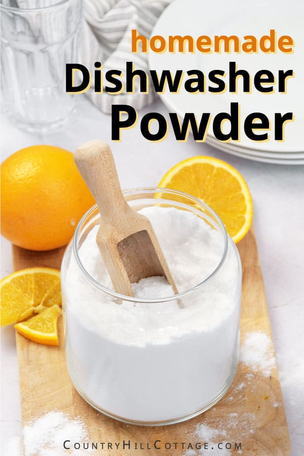 homemade dish detergent