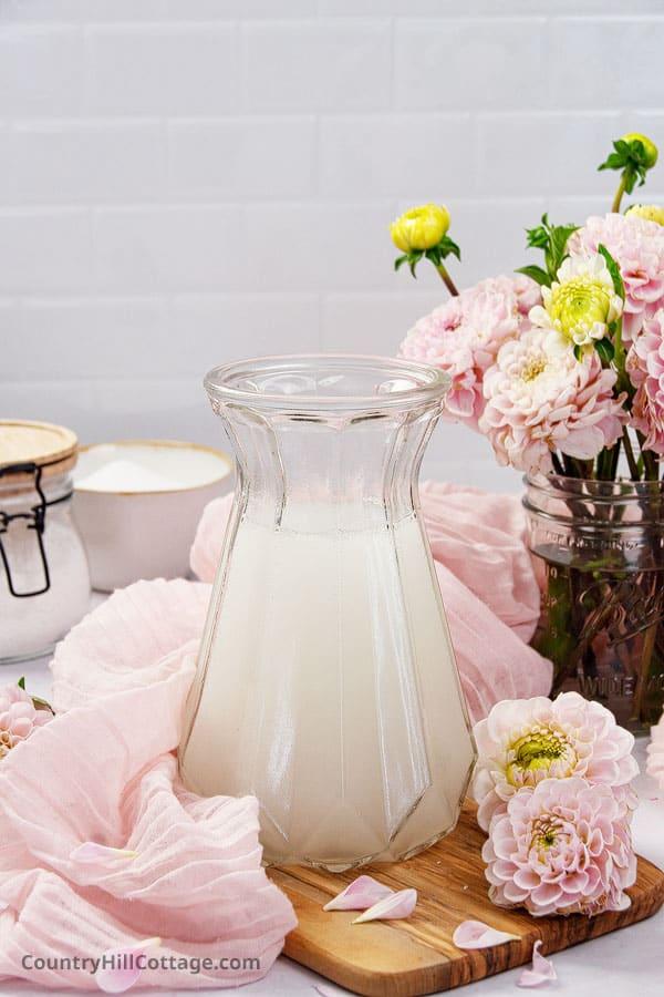 homemade natural fabric softener