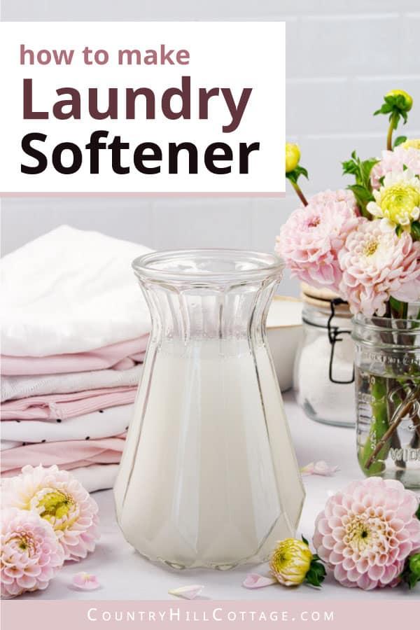 how to make fabric softener